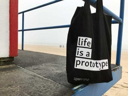 LIfe is a prototype beutel