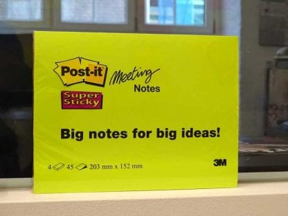 Post-its in A5