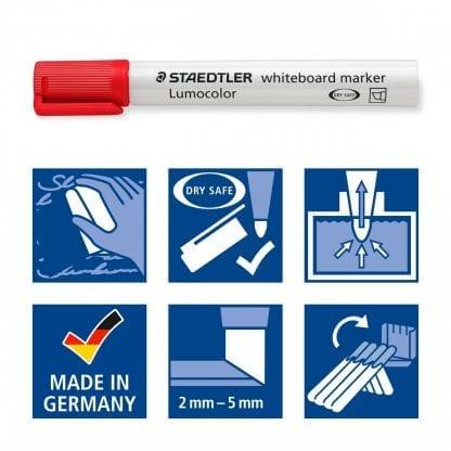 Vorteile eines Staedtler Whiteboard Markers