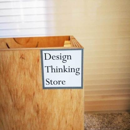 Design Thinking Store Logo auf Kappajon
