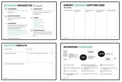Templates für DesignThinking