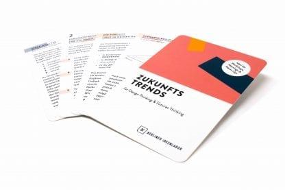 Trendkarten für kreative Workshops zu Innovations- und Zukunftsthemen