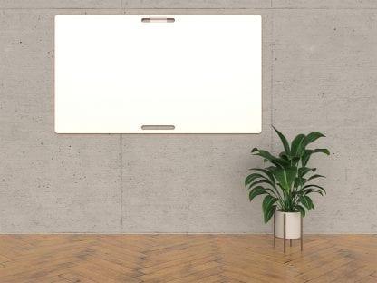 Ein agiles BigBoard Whiteboard an einer Wand