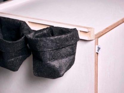 Taschen des Kekendo Teamtisches