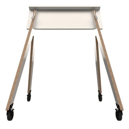spaceMount Gestell aus Holz und Metall für Whiteboards