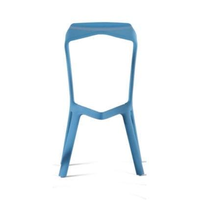 Stuhl für Workshops in blau